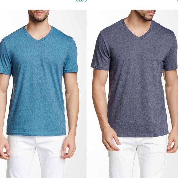 5aa6fa49ee57 Public Opinion Shirts | 2pack Mens Vneck T | Poshmark
